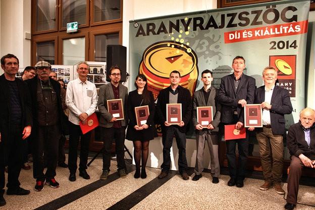 !Aranyrajzszög_Dijazottak.gallery